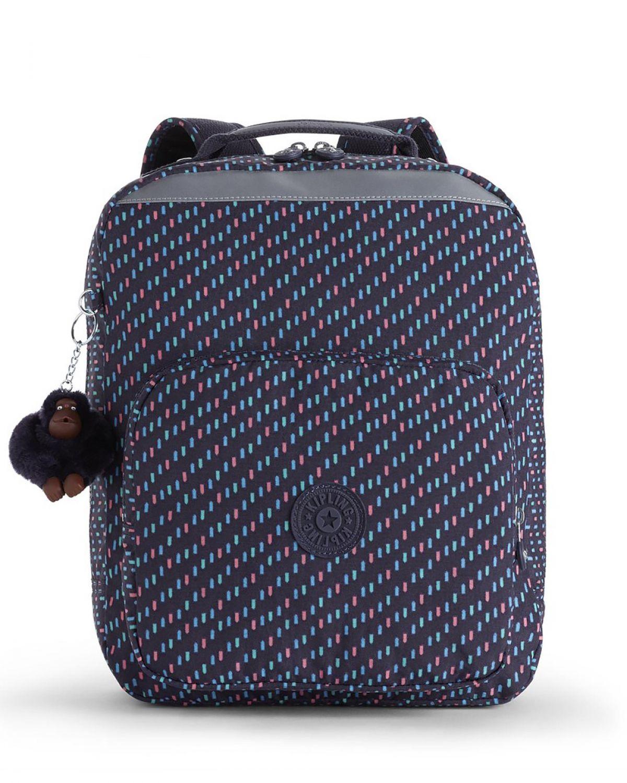 Kipling Ava Back To School Cm İlkokul Çantası K14853 Blue Dash C