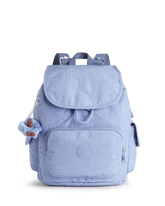 Kipling City Pack S Basic Ewo Kadın Sırt Çantası K15635 Timid Blue C