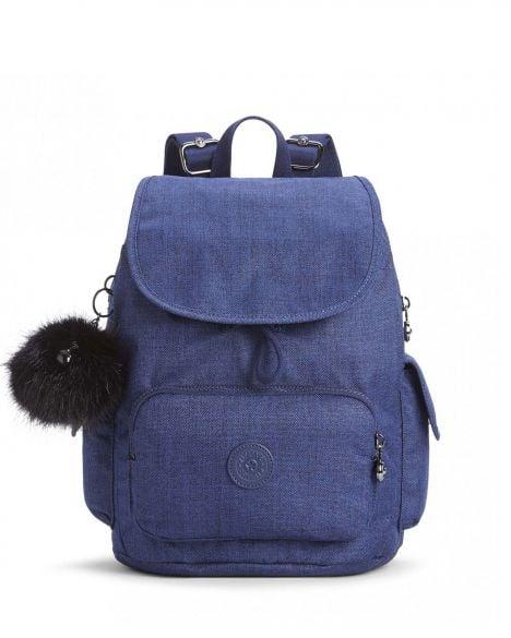 Kipling City Pack S Basic Plus Ewo Kadın Sırt Çantası K15641 Cotton İndigo