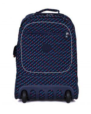 Kipling Clas Soobın L Back To School Cm Tekerlekli Okul Çantası K15359 Blue Dash C