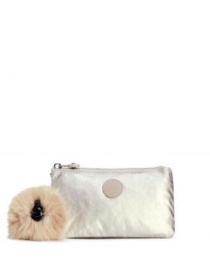 Kipling Creativity L Bp Basic Plus K13093 Silver Beige