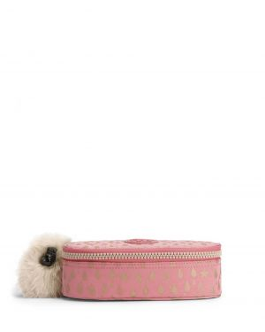 Kipling Duobox Back To School Cm K12908 Pink Gold Drop