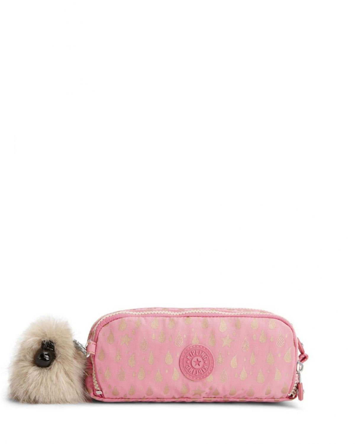 Kipling Gitroy Back To School Cm K13564 Pink Gold Drop