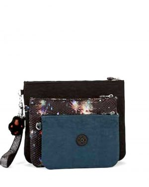Kipling Iaka L Wristlet Beauty Of Gıftıng K12415 Winter Firework