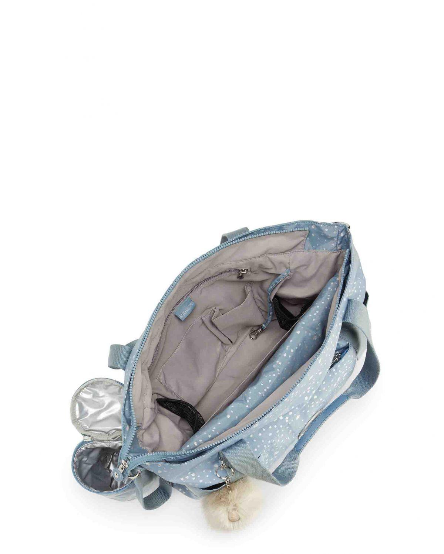 Kipling Little Heart Basic Plus Bebek Bakım Çantası K27119 Silver Sky