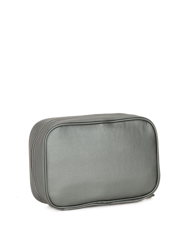 Kipling Multi Basic Plus Ewo Makyaj Çantası K12795 Metallic Stony