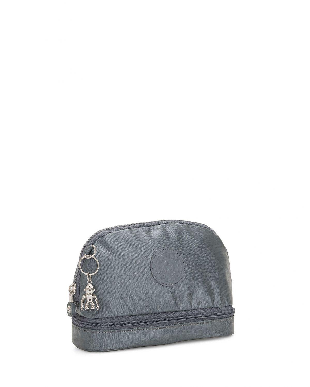 Kipling Multi Keeper Basic Plus Makyaj Çantası K12910 Stell Grey
