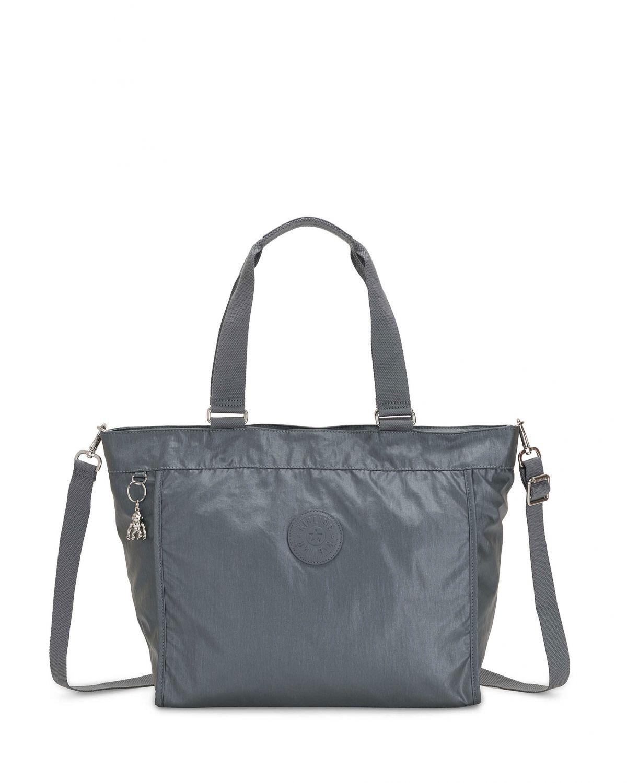 Kipling New Shopper L Basic Plus Kadın Omuz Askısı K14473 Stell Grey