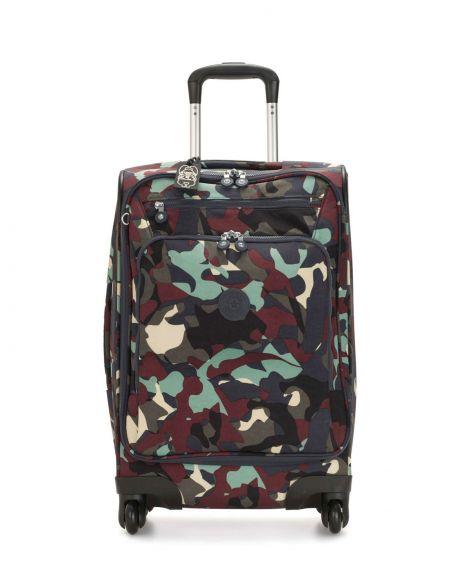 Kipling Youri Spin 55 Basic Kabin Boy Valiz K15316 Camo Large