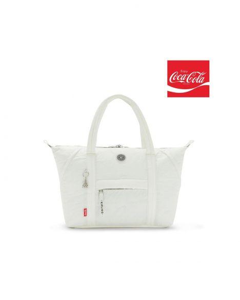 Kipling Art M Coca-Cola++ Kadın El Çantası KI7021 CC Air Grey