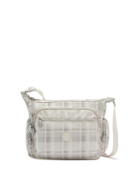 Kipling Gabbie Basic Plus Kadın Omuz Çantası K22621 Soft Plaid