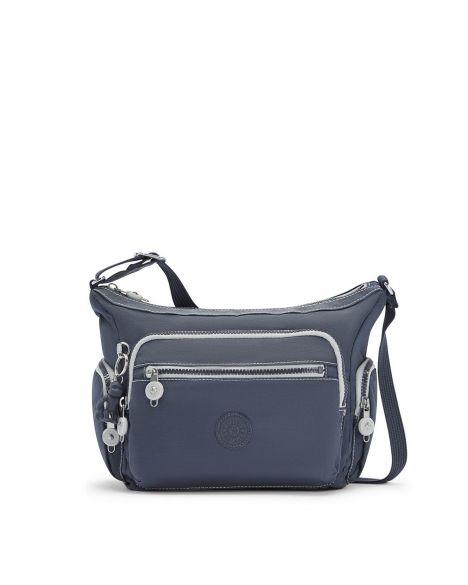 Kipling Gabbie S Plus Kadın Omuz Çantası KI2531 Grey Slate