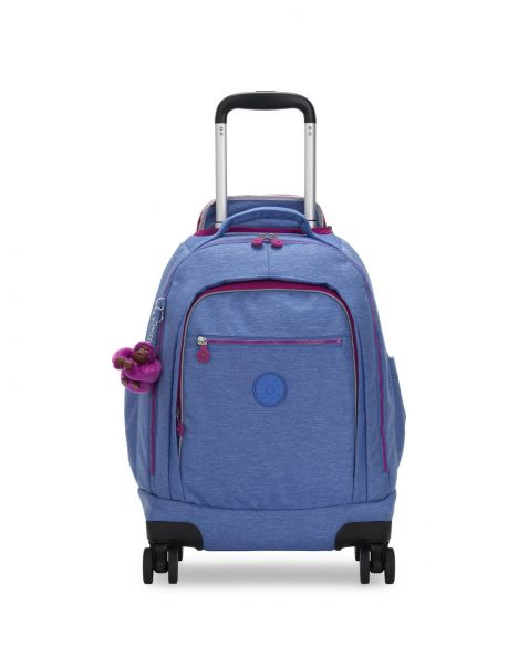 Kipling Zea Bts Tekerlekli Okul Çantası KI5008 Dew Blue