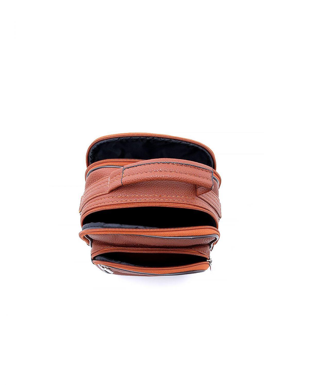 My Luggage Önü İki Bölmeli Erkek Çapraz Askılı Çanta 30030 Taba