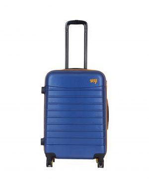My Luggage Renkli Fermuar Detaylı Orta Boy Valiz 1MY0101343 Mavi - Turuncu