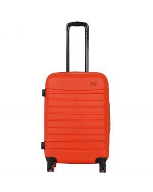 My Luggage Renkli Fermuar Detaylı Orta Boy Valiz 1MY0101343 Turuncu - Turuncu