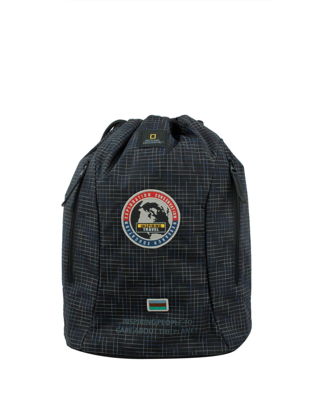 National Geographic Sling Bag N01120 Black With Print