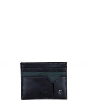 Pierre Cardin 2 Renkli Erkek Kartlık 0242 Siyah - Yeşil