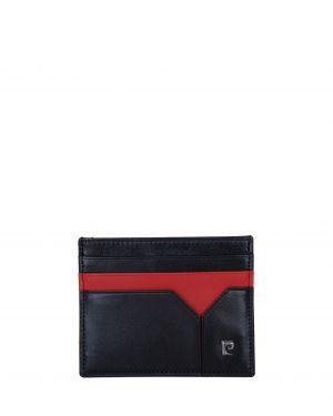 Pierre Cardin 2 Renkli Erkek Kartlık 0242 Siyah - Kırmızı