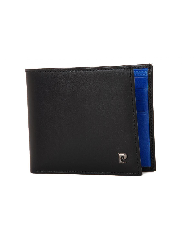 Pierre Cardin 6 Kartlıklı Erkek Cüzdanı 2368 Siyah- Saks Mavi