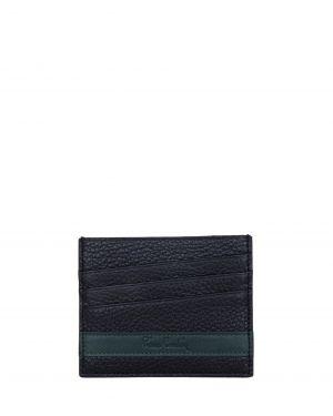 Pierre Cardin Çift Taraflı Erkek Kartlık 0262 Siyah - Yeşil