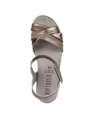Kifidis Çapraz Üç Bantlı Kadın Sandalet Rosa 04 Ac
