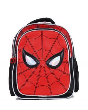 Spider-Man Işıltı Detaylı İlkokul Çantası 95320 Kırmızı