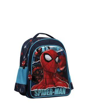 Spiderman Due Torn İlkokul Çantası  Mavi - Siyah
