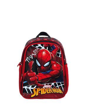 Spiderman Hawk Eyes İlkokul Çantası  Kırmızı