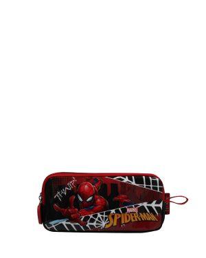 Spiderman Hawk Spider Eyes Kalemlik  Kırmızı - Siyah