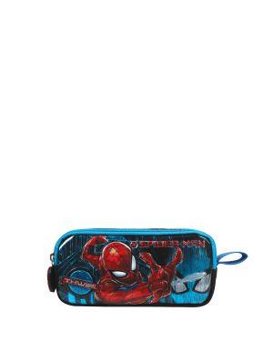 Spiderman Salto Tech Kalemlik  Mavi - Siyah