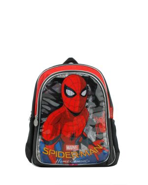 Spider-Man İlkokul Çantası 89348 Kırmızı - Siyah