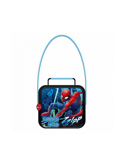 Spider-Man Spiderman Echo Erkek Çocuk Beslenme Çantası OTTO-5678 Kırmızı - Siyah