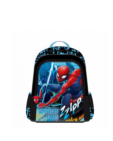 Spider-Man Spiderman Hawk Erkek Çocuk İlkokul Çantası OTTO-5677 Kırmızı - Siyah