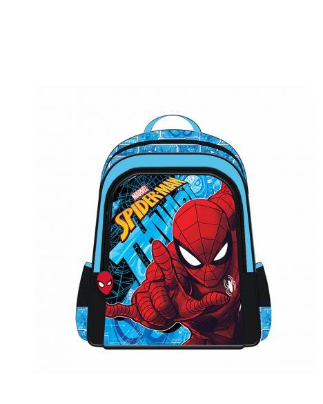 Spider-Man Spiderman Hawk Erkek Çocuk İlkokul Çantası OTTO-5686 Kırmızı