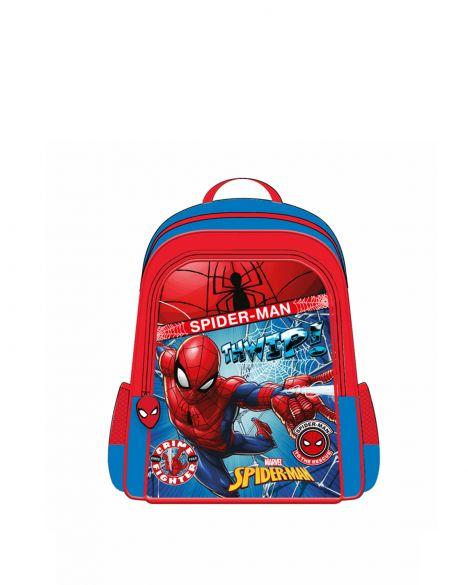 Spider-Man Spiderman Hawk Fighter Erkek Çocuk İlkokul Çantası OTTO-5683 Kırmızı - Siyah