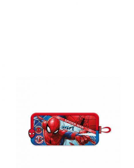 Spider-Man Spiderman Hawk Fighter Erkek Çocuk Kalemlik OTTO-5685 Kırmızı - Siyah