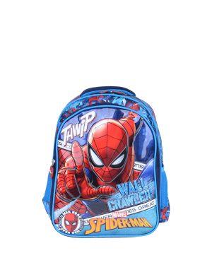 Spiderman Loft Wall Crawler İlkokul Çantası  Mavi