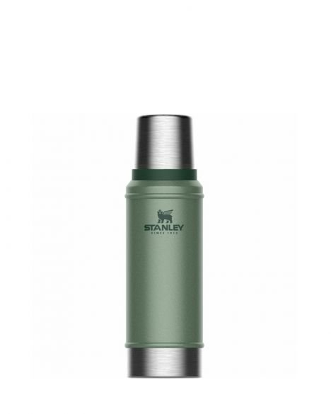 Stanley Efsane Klasik Seri-0.75 Litre Vakumlu Çelik Termos 10-01612 Hammertone Green