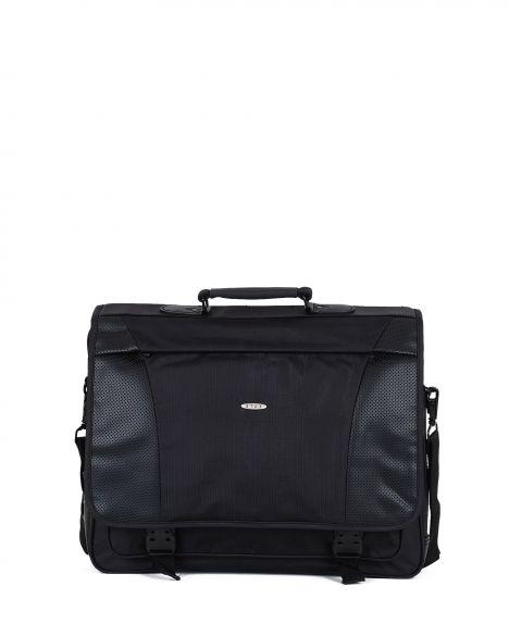 Staxx Sternum Kapaklı Laptop / Evrak Çantası EVR0012 Siyah