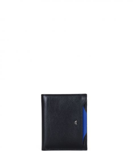Tergan Erkek Cüzdanı S1Ce00001612 Siyah - Mavi
