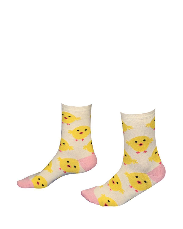 The Socks Company Chicken Dance Kadın Çorap 15KDCR761K Renkli