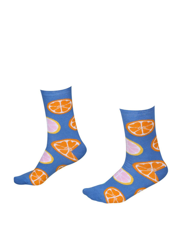 The Socks Company Citrus Slices Kadın Çorap 15KDCR781K Renkli