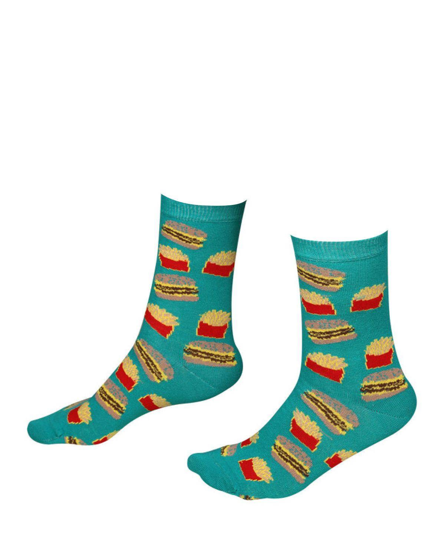 The Socks Company Fast Food Kadın Çorap 15KDCR771K Renkli