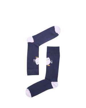 The Socks Company Hello Penguin Erkek Çorap 15KDCR130E Renkli