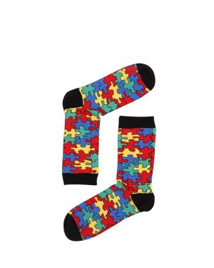 The Socks Company Puzzled Kadın Çorap 15KDCR773K