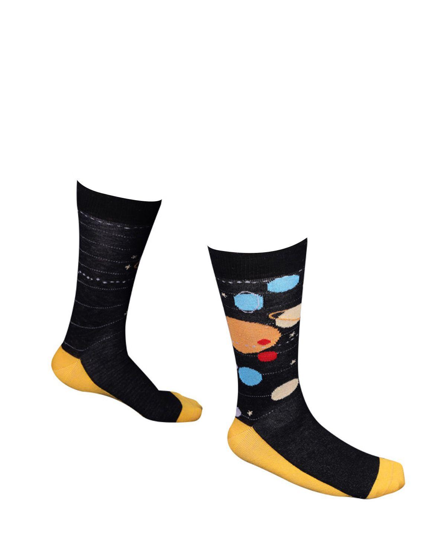 The Socks Company Solar System Erkek Çorap 15KDCR109E Renkli