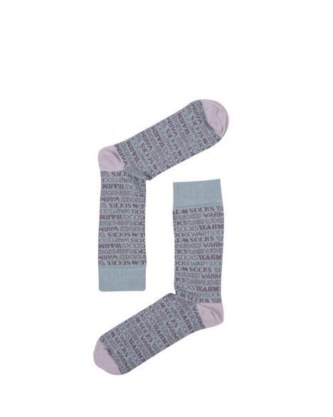The Socks Company Typography Erkek Çorap 15KDCR104E Renkli