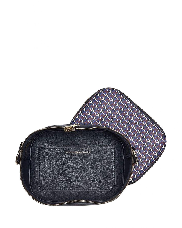 Tommy Hilfiger Camera Bag Çapraz Kadın Çantası AW0AW07314 Corporate Mix