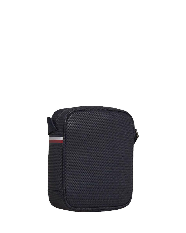 Tommy Hilfiger Essential Pique Mini Çapraz Askılı Erkek Çantası AM0AM05274 Sky Captain
